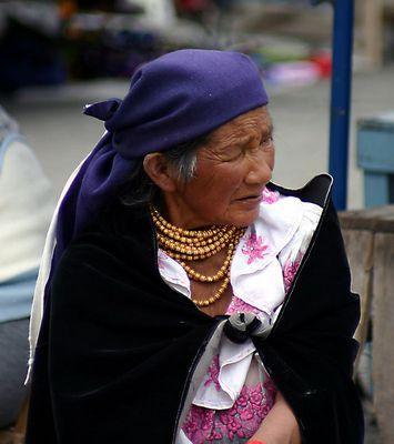 alte Frau (Otavalo)