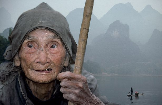 Alte Frau von Cao Ping