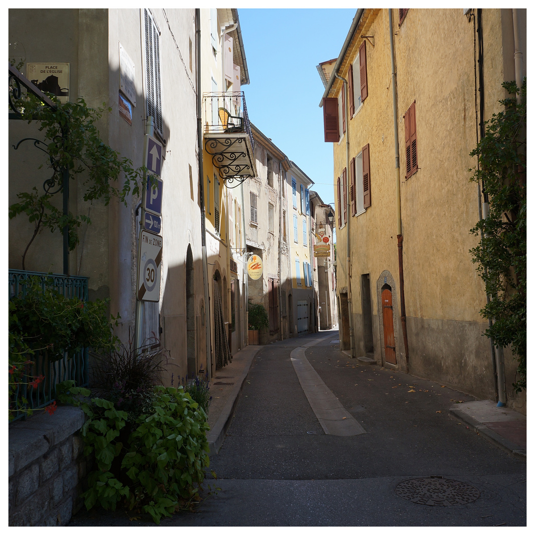 Alte Gasse in Castellane