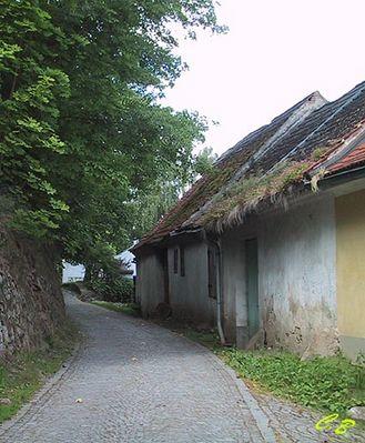 Alte Häuser, alte Mauern