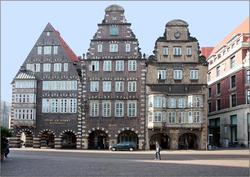 alte h user am markt foto bild deutschland europe bremen bilder auf fotocommunity. Black Bedroom Furniture Sets. Home Design Ideas