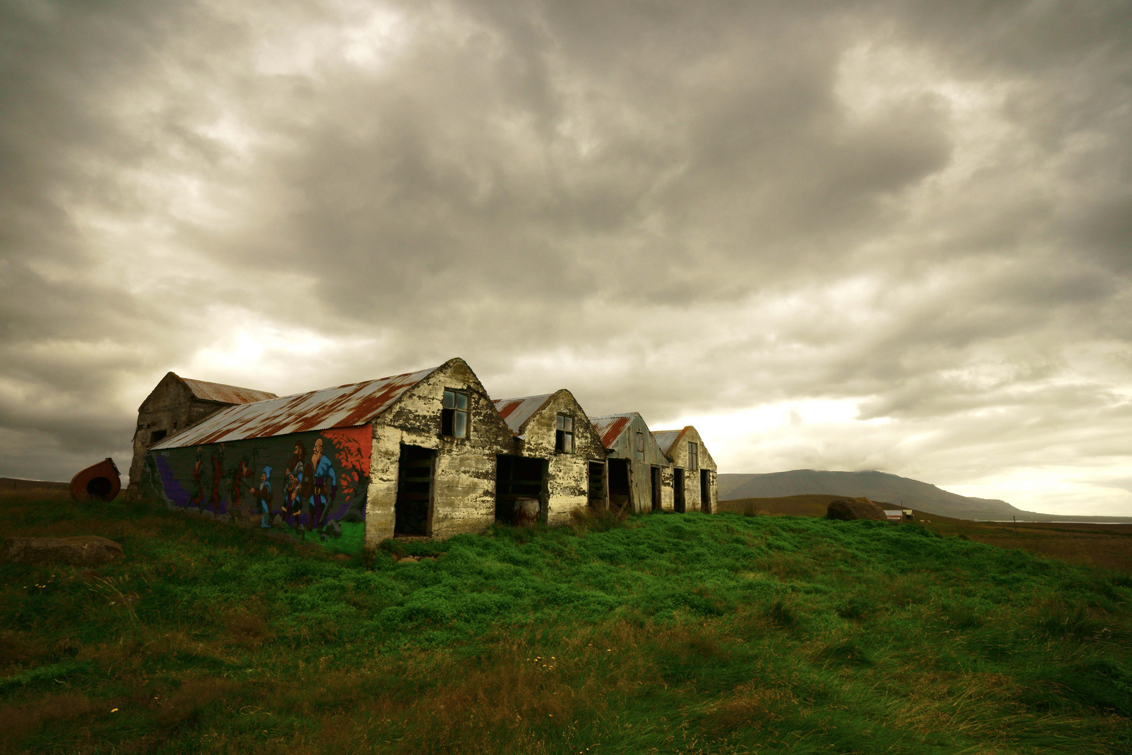 alte Häuser in Iceland