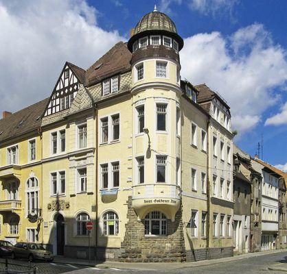 Alte Häuser in Weißenfels Sachsen-Anhalt