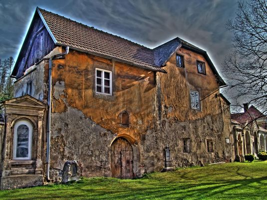 Alte Hausmauer