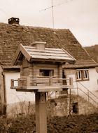 Alte Hütte - Hintergrund!