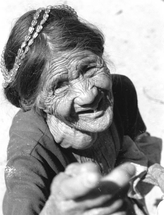 Alte Igorotfrau