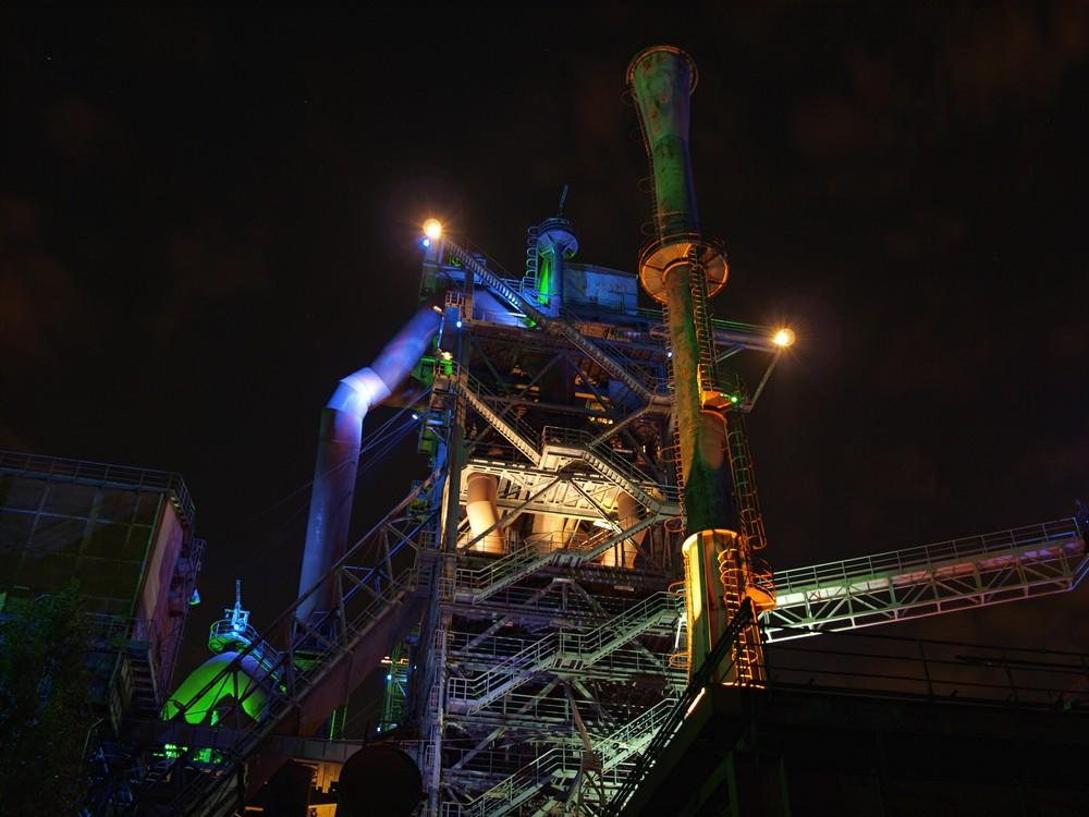 Alte Industrieanlage....