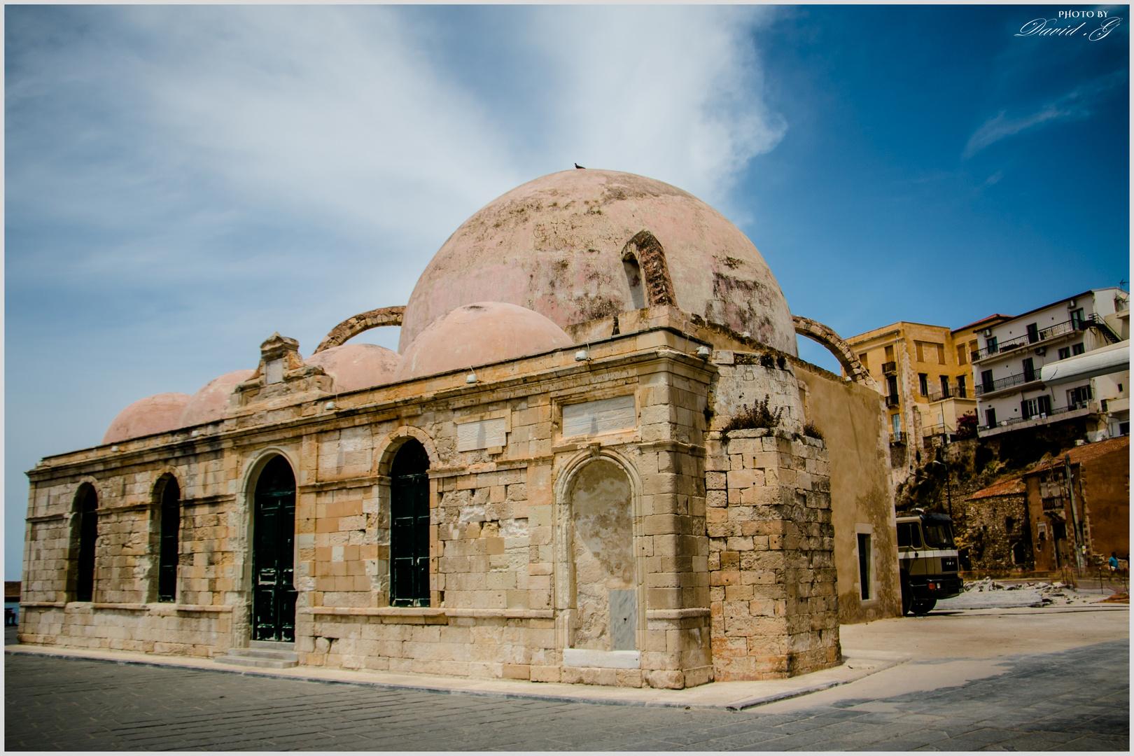 Alte Janitscharen Moschee in Chania auf Kreta