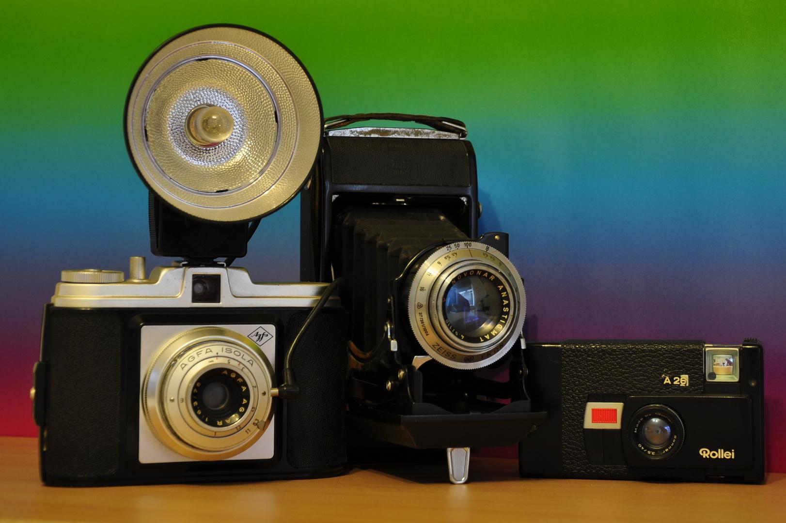--- Alte Kameras 2. ---