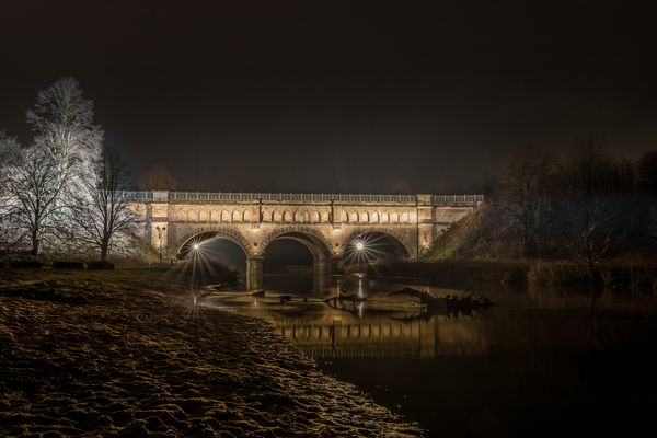 Alte Kanalbrücke Olfen