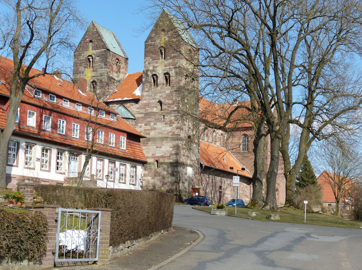 Alte Klosterkirche von Fredelsloh
