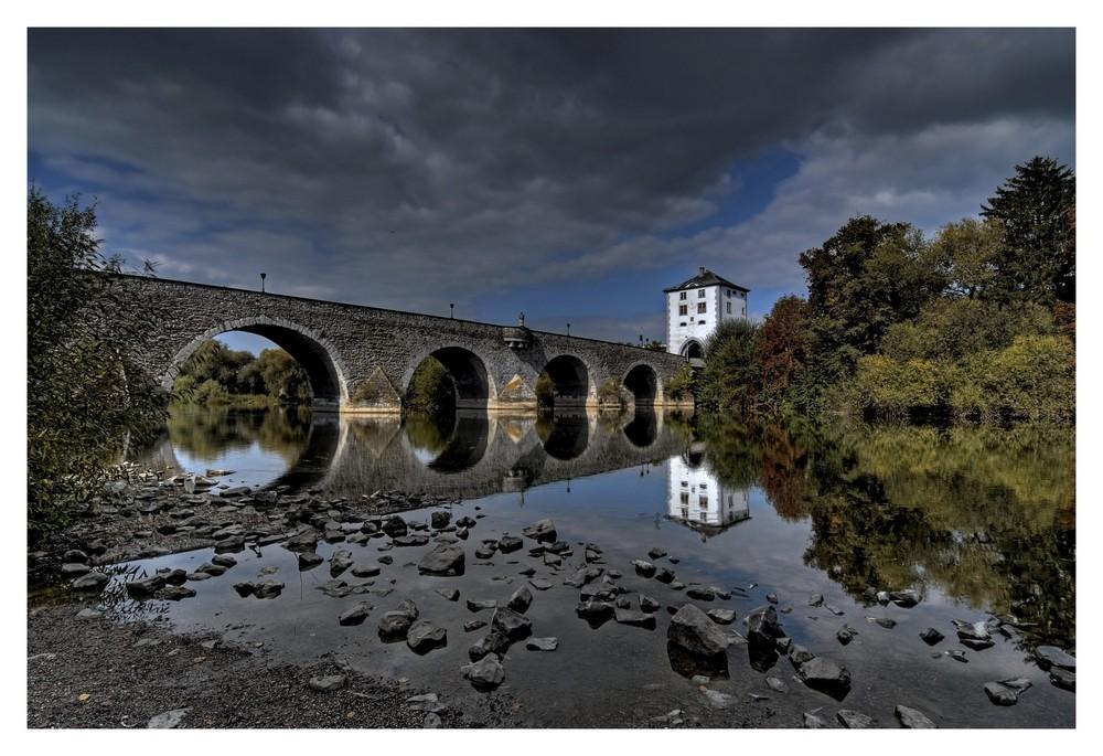 Alte Lahnbrücke in Limburg