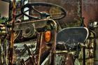 Alte Landmaschine