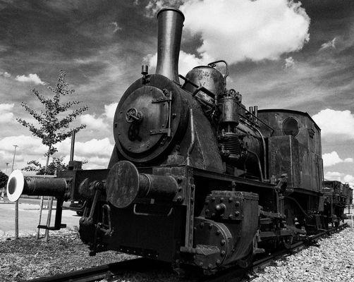 alte Lokomotive