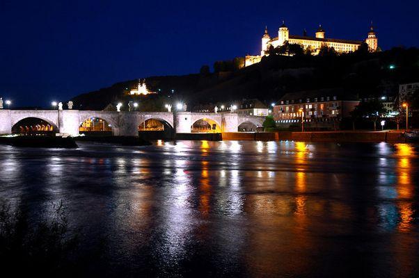 Alte Mainbrücke und Festung Würzburg