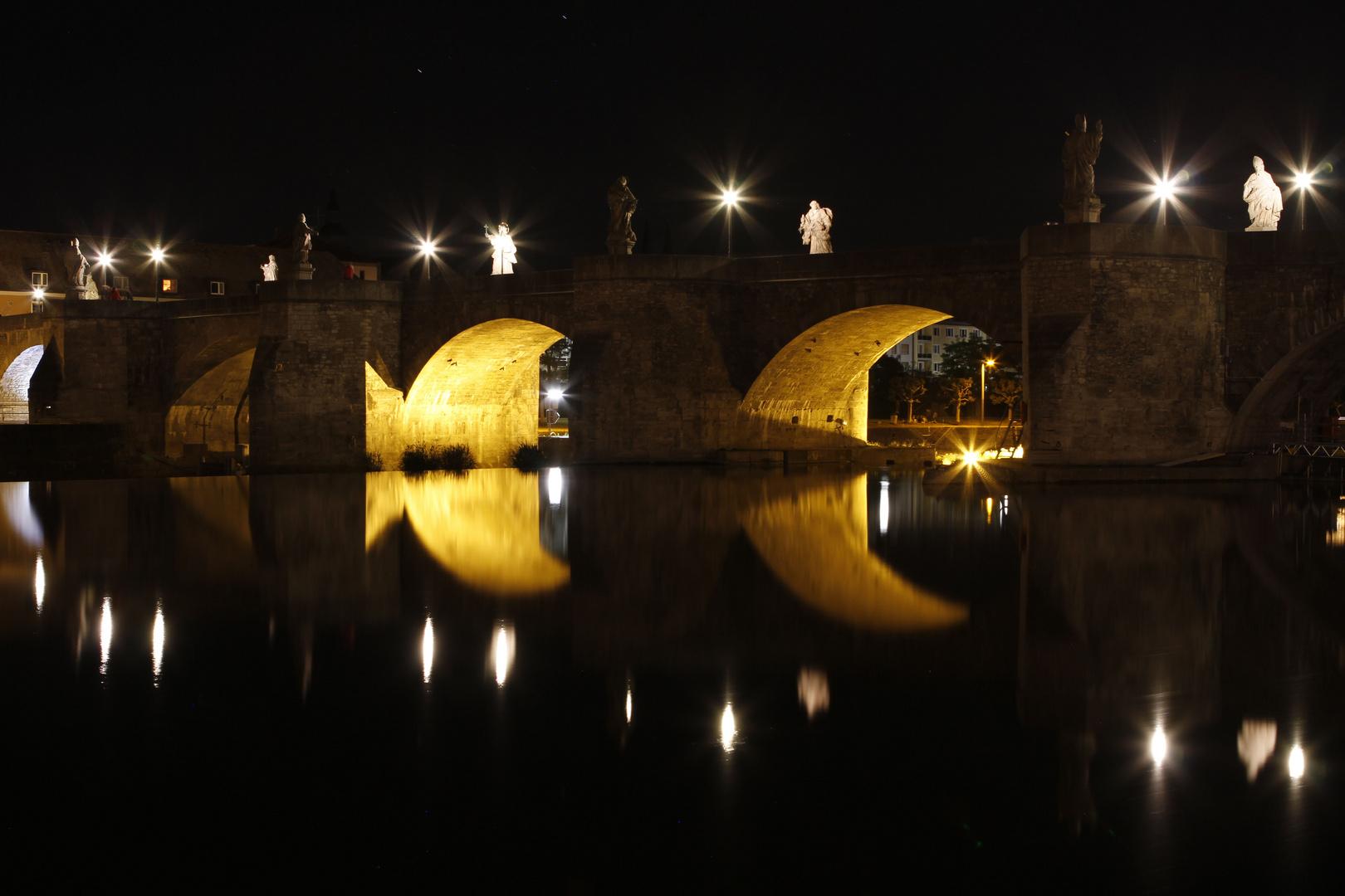 ... alte Mainbrücke, Würzburg ...