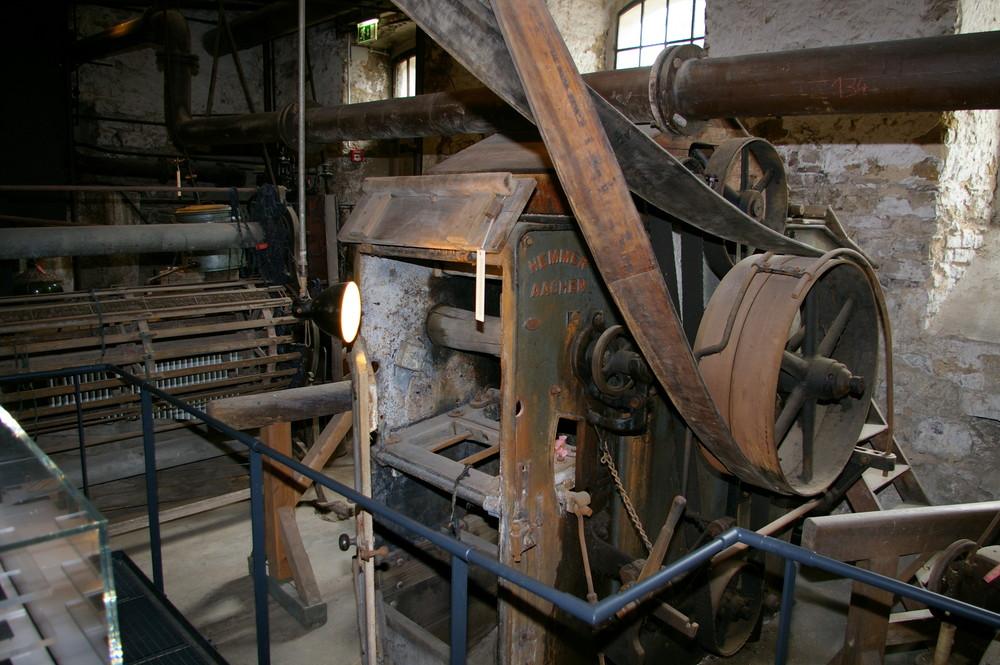 Alte Maschinenhalle der Tuchfabrik