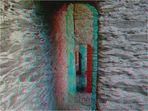 alte Mauern - Anaglyphe