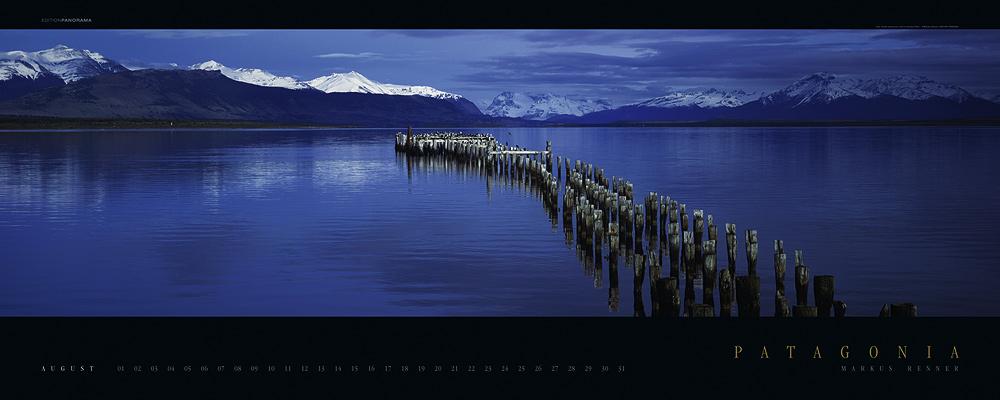 Alte Mole bei Puerto Natales