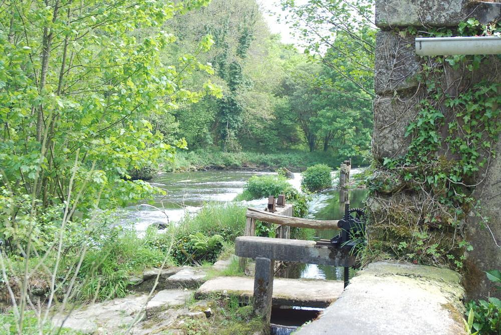 alte Mühle am Fluß