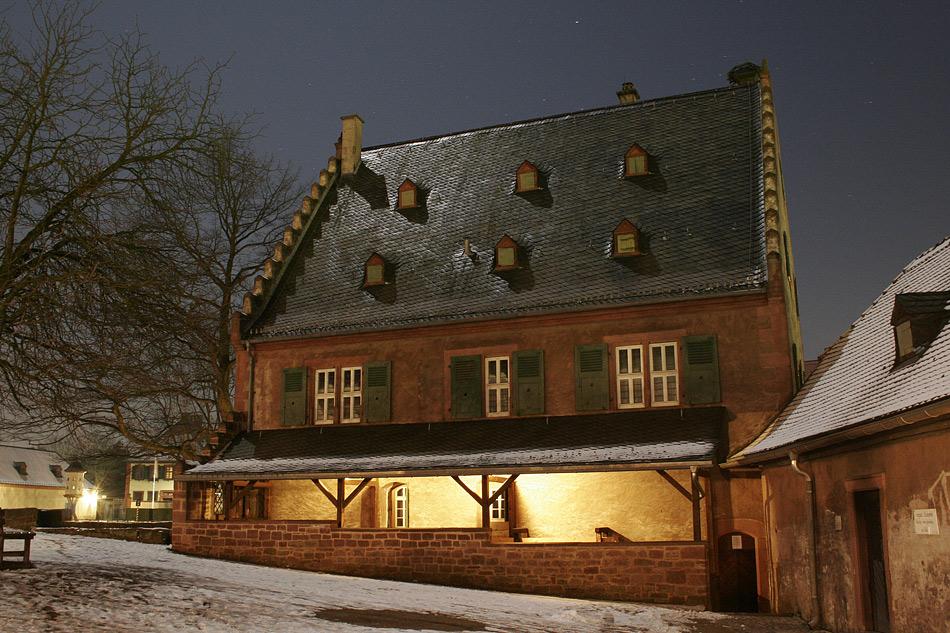 Alte Mühle bei Vollmond