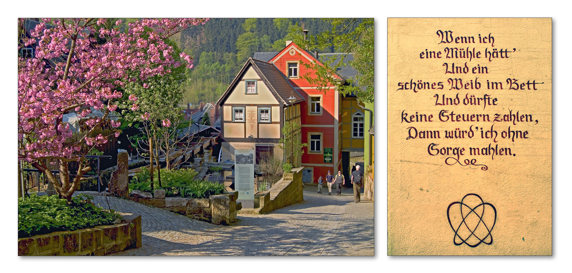 Alte Mühle in Schmilka