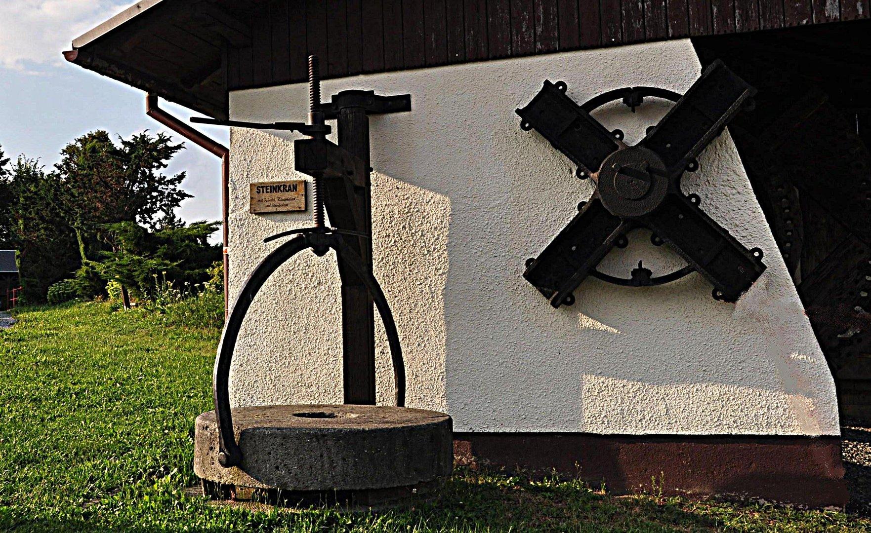 Alte Mühlentechnik 1