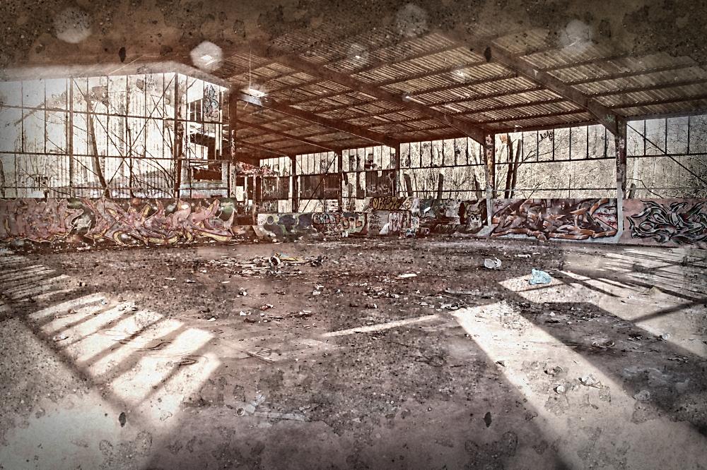 Alte Müllverbrennung Kiel - Analoge Bearbeitung