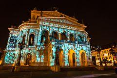 Alte Oper illuminiert