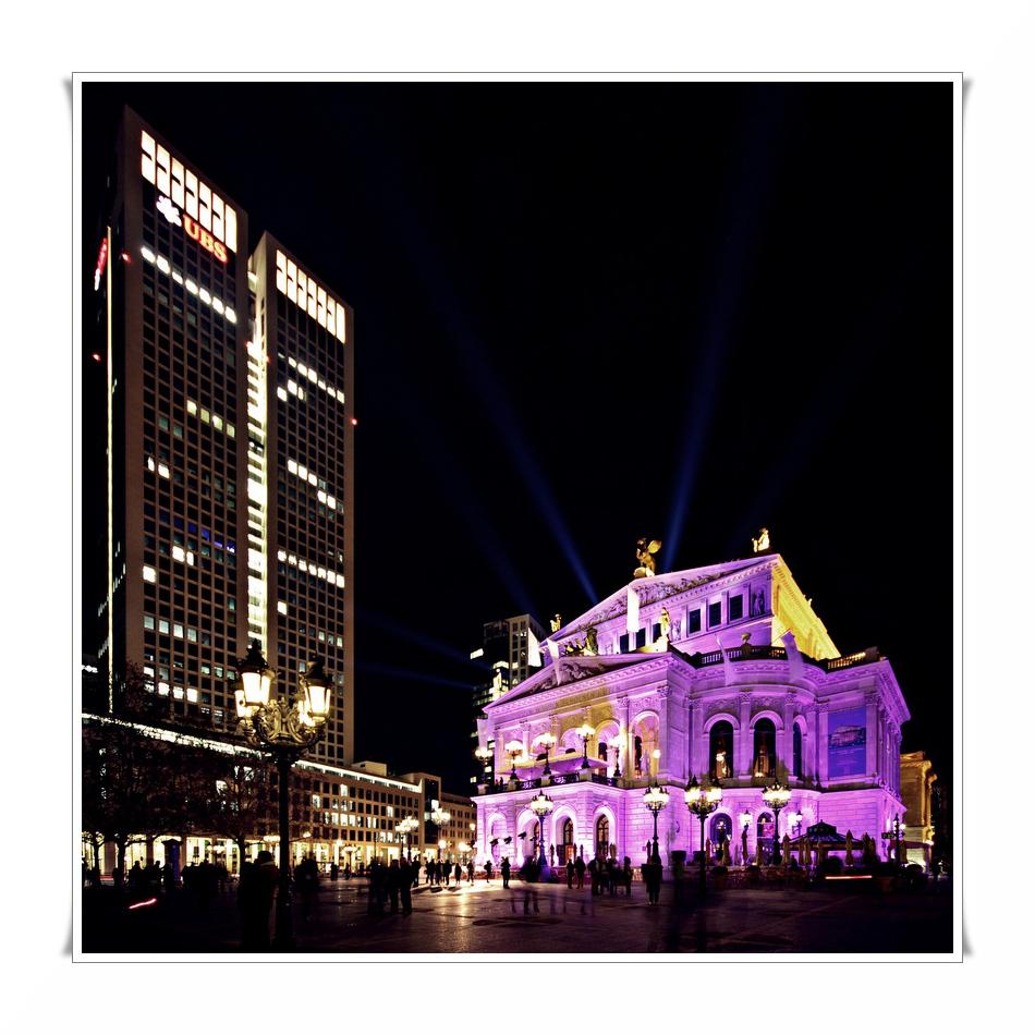 """""""Alte Oper"""" im Glanz der Luminale"""