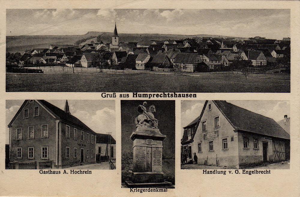 Alte Ortsansicht von 1927...