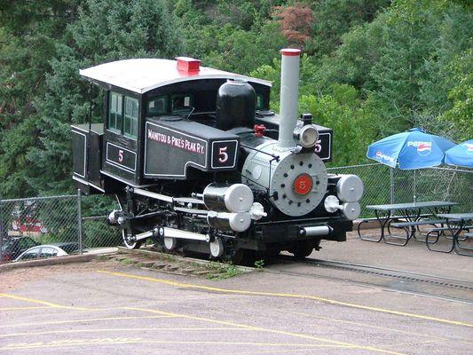 Alte Pikes Peakes Zahnradbahn