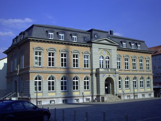 Alte Post zu Mühlhausen (heute Gebäude der Rentenversicherung)