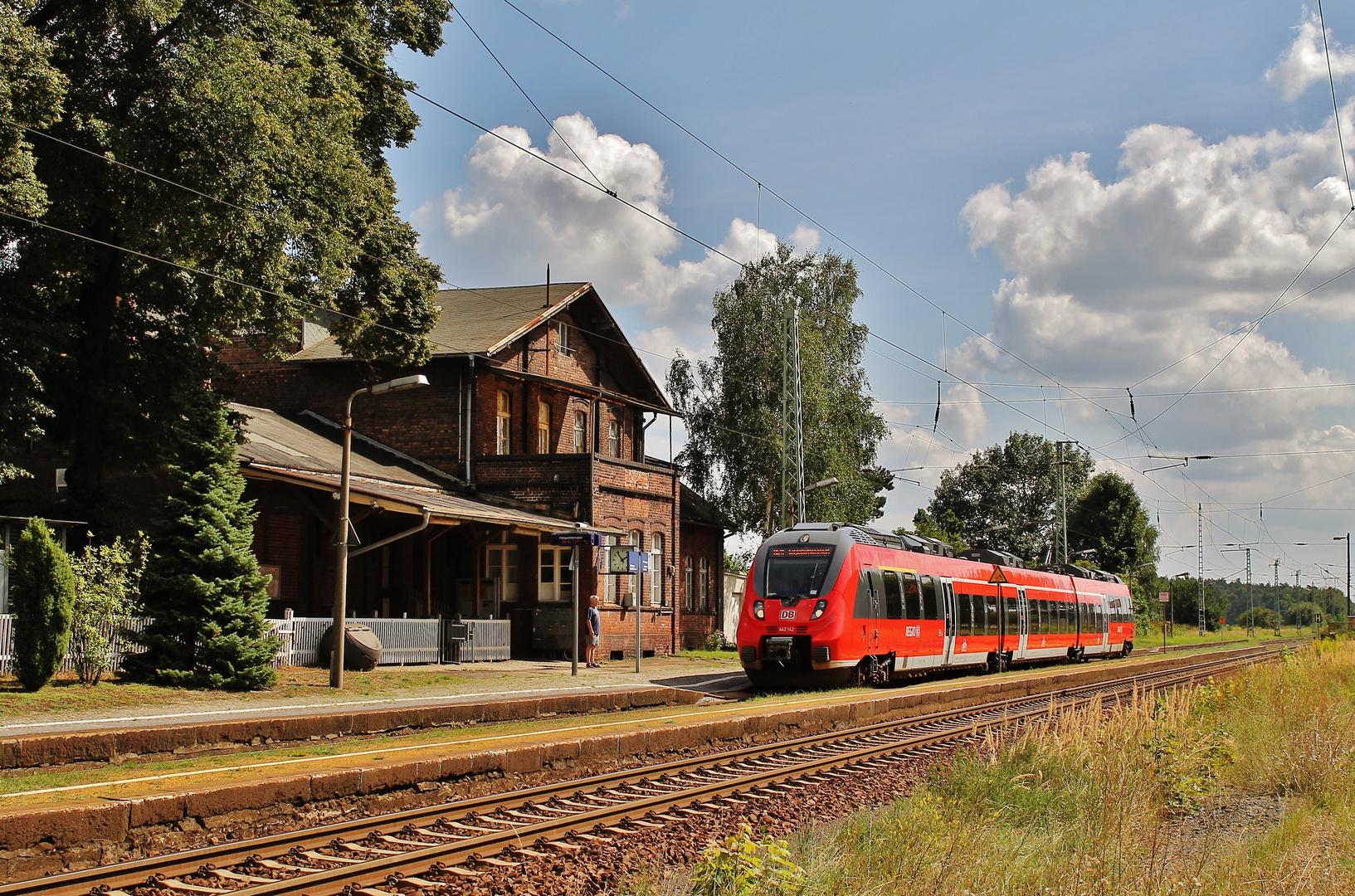 Alte preußische Eisenbahnarchitektur...