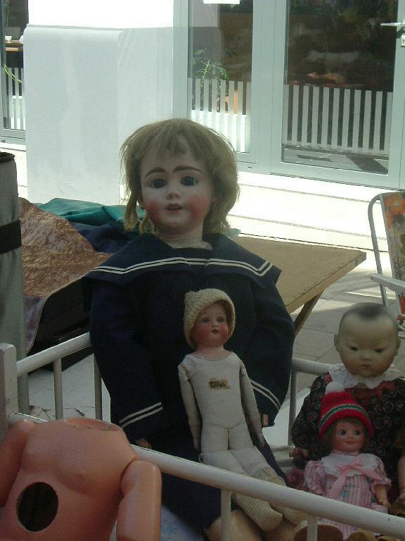Alte Puppen gab es auch