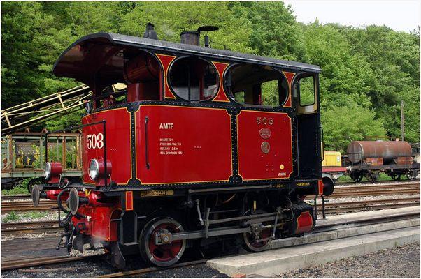 Alte Rangierlokomotive