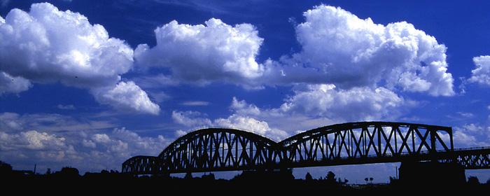 Alte Rheinbrücke - 2.Versuch