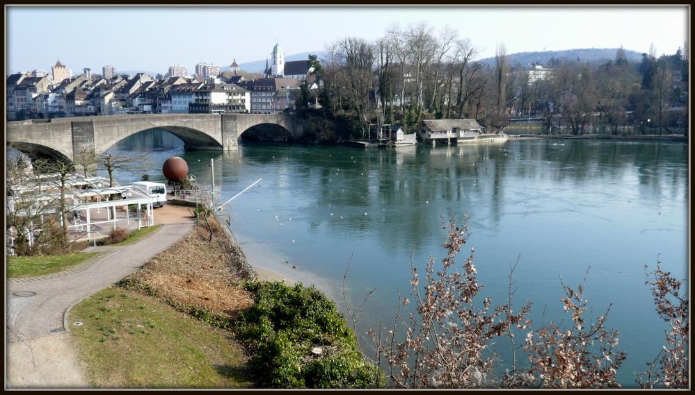 Alte Rheinbrücke in Rheinfelden