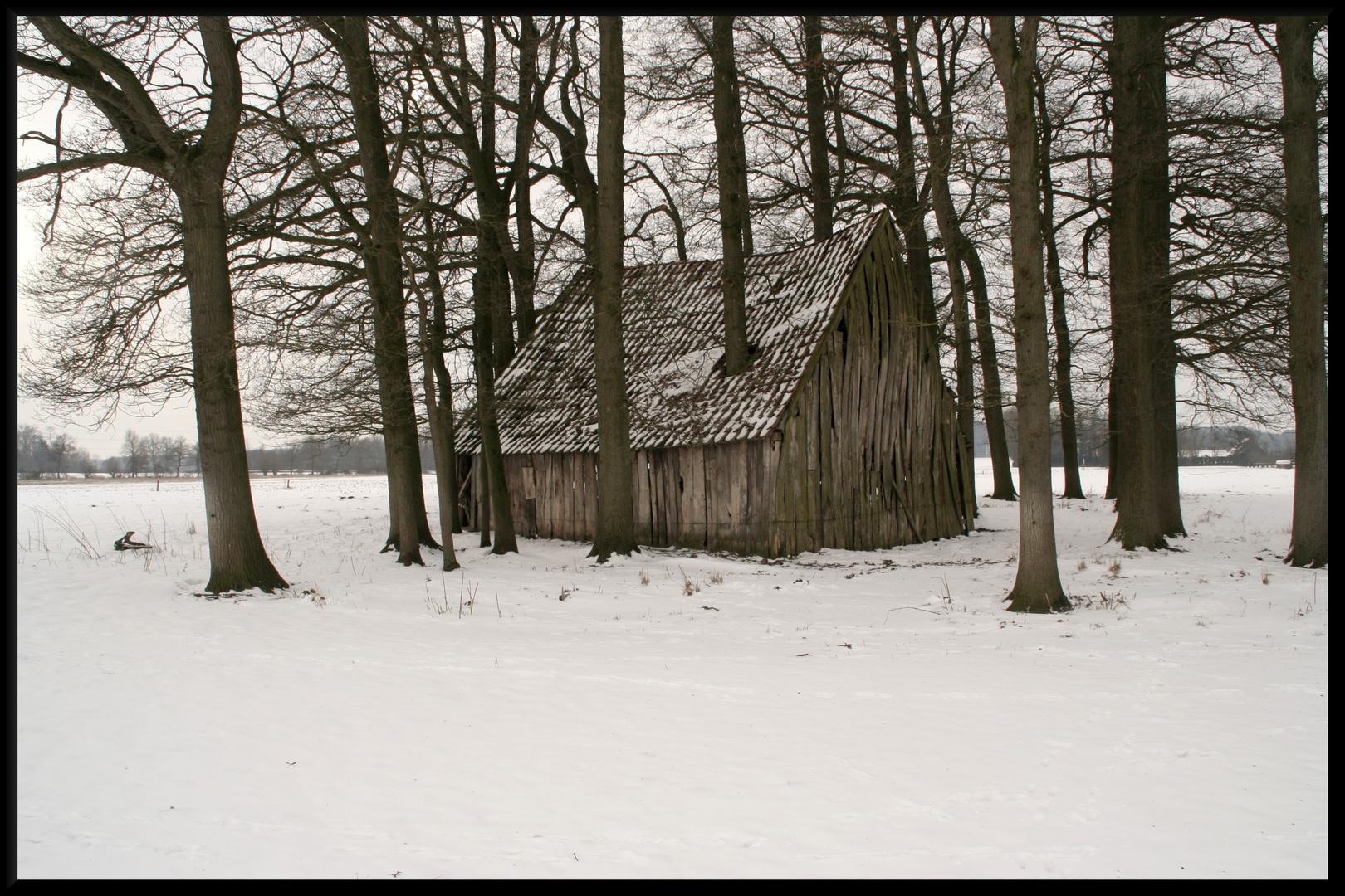 Alte Scheune im Münsterland