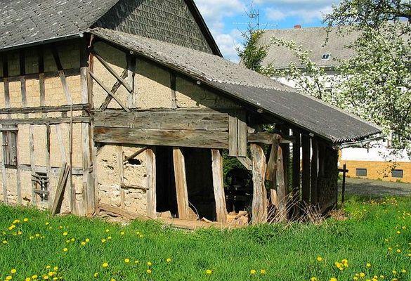 Alte Scheune in Himmighofen