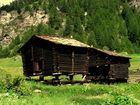 alte Scheunen (oberhalb von Zermatt)