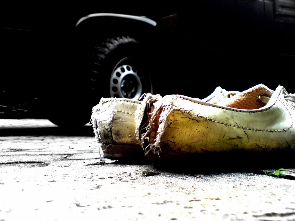 alte schöne Schuhe