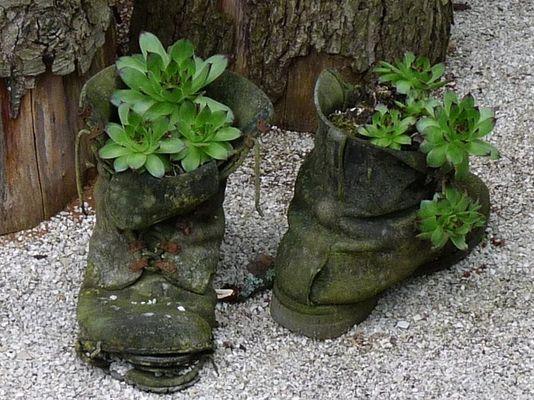 alte Schuhe