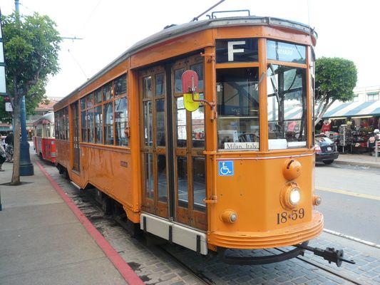 Alte Straßenbahnen 1