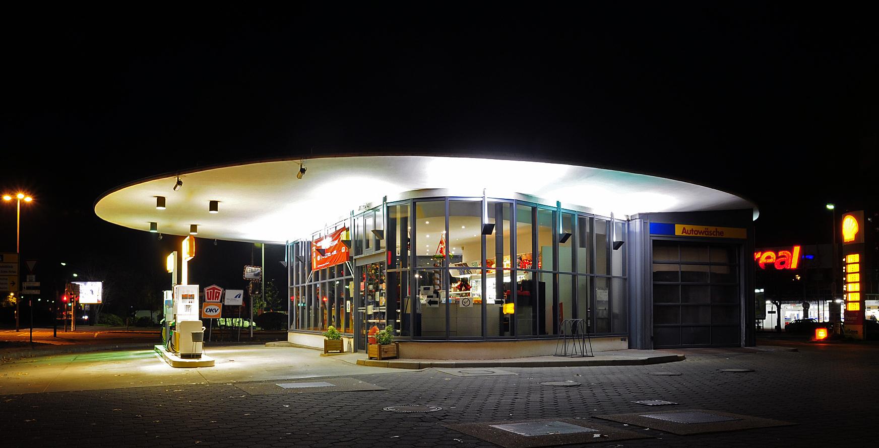 Alte Tankstelle in Ludwigshafen