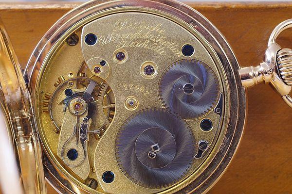 Alte Taschenuhr aus Glashütte