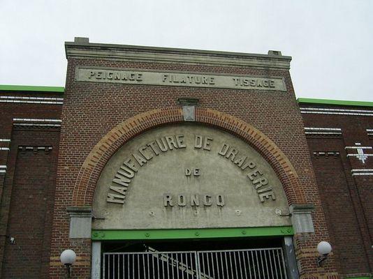 Alte Textilfabrik in Roncq (in der Nähe von Lille)