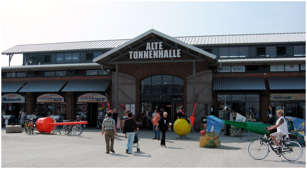 """ Alte Tonnenhalle """