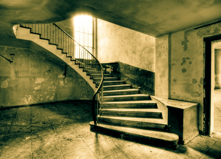 alte treppe foto bild architektur lost places motive bilder auf fotocommunity. Black Bedroom Furniture Sets. Home Design Ideas