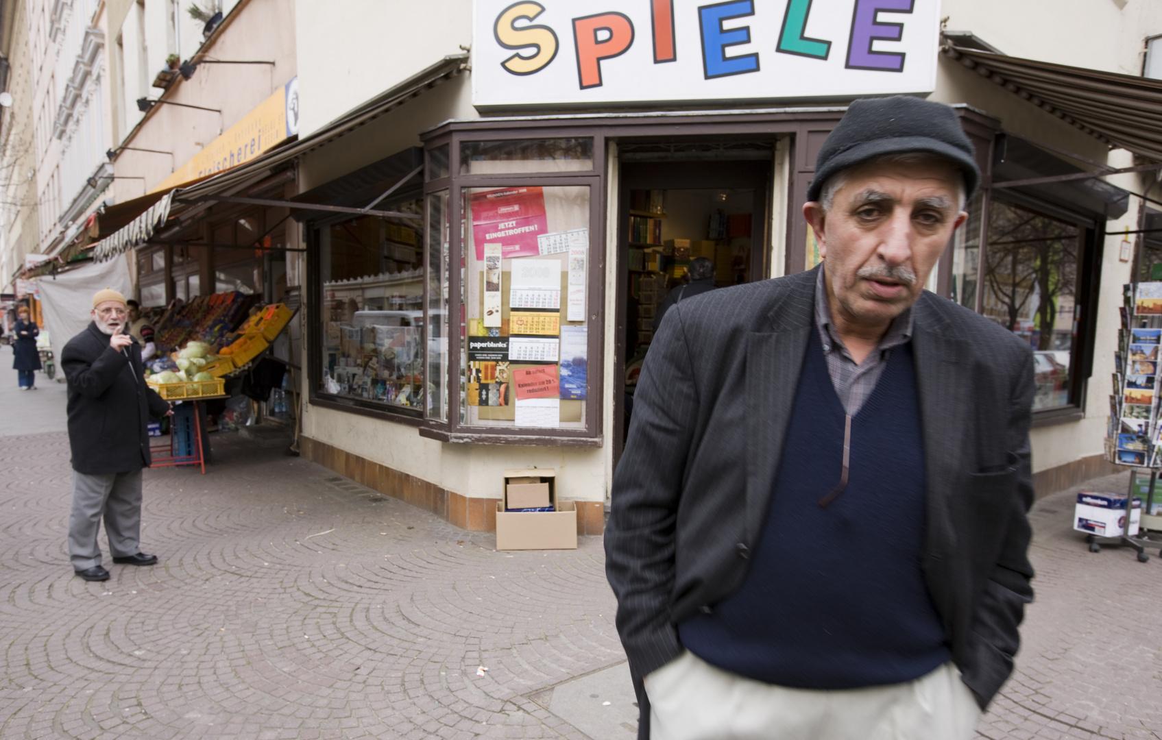 alte türke in Berlin Kreuzberg